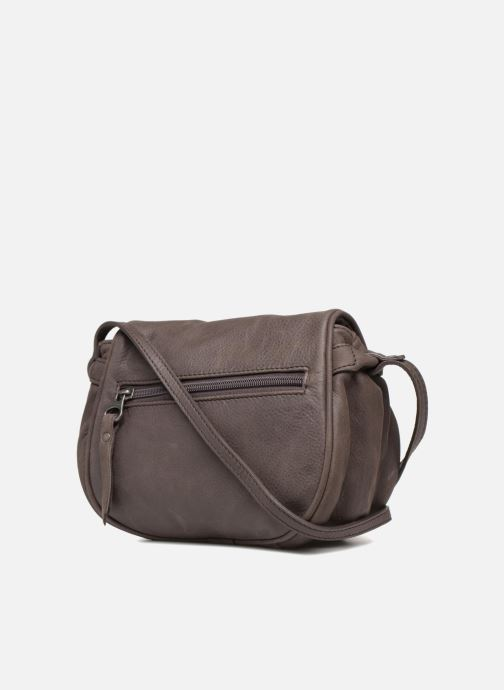 Handbags Sabrina Alice Brown view from the right