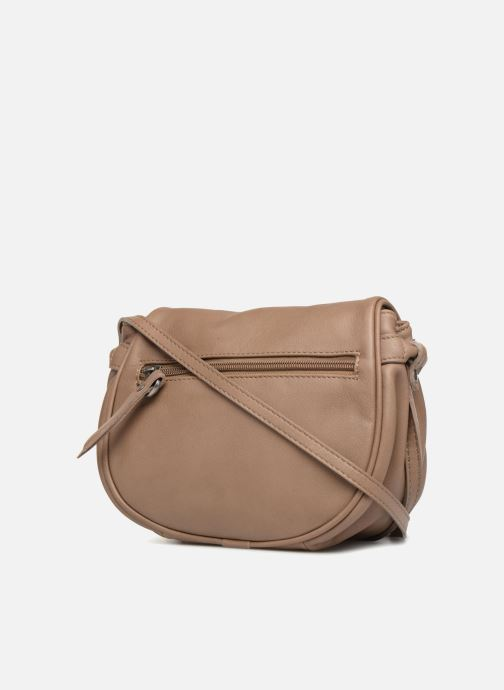 Handbags Sabrina Alice Beige view from the right