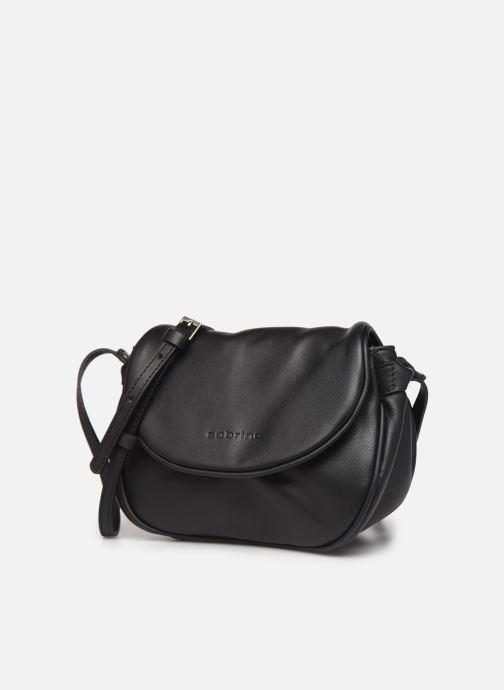 Handtaschen Sabrina Alice schwarz schuhe getragen