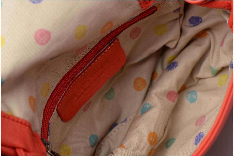Handtassen Sabrina Alice Rood achterkant