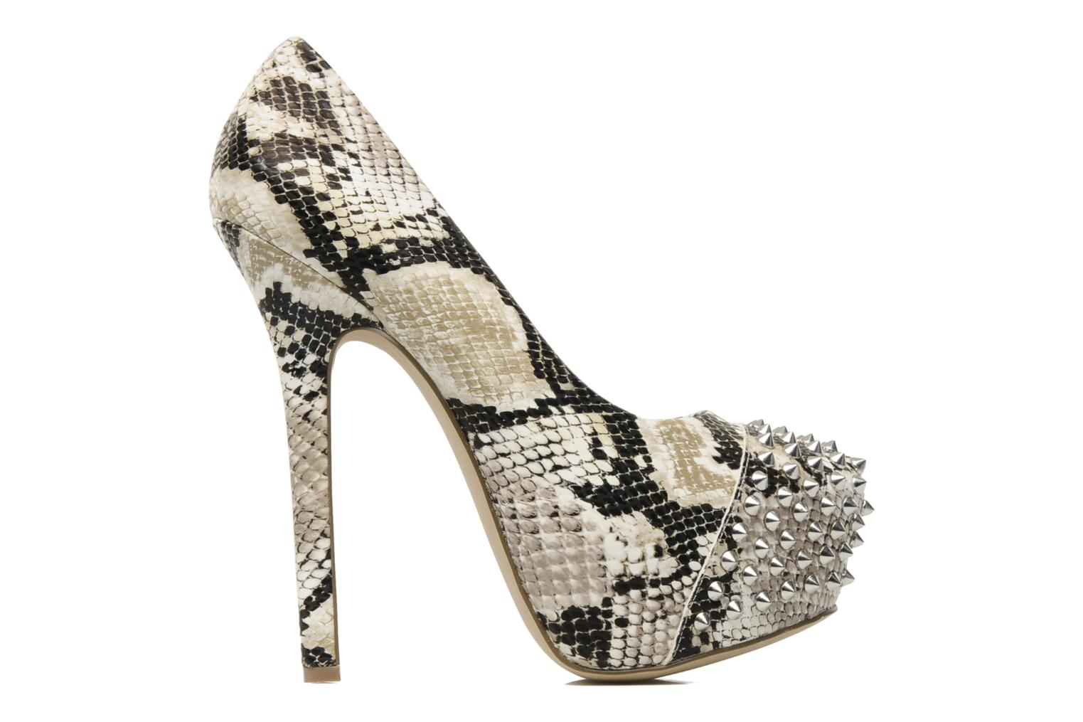 High heels Steve Madden BOLDDD Beige back view