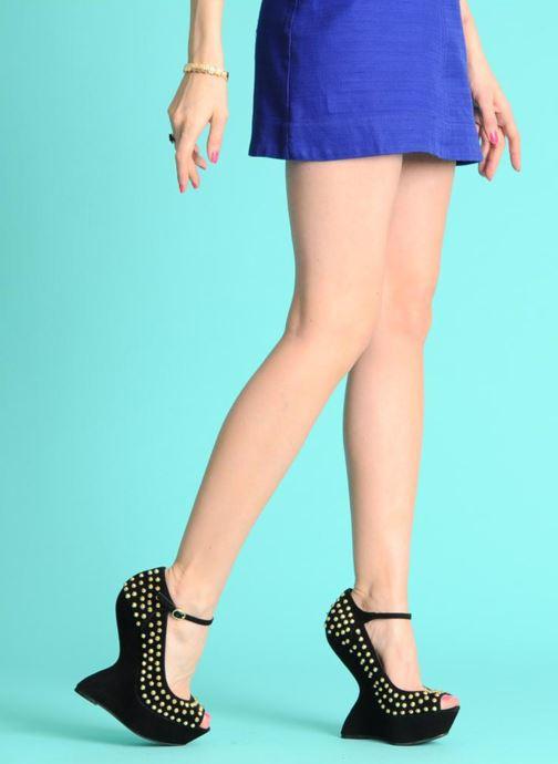 High heels Steve Madden GAMMBLEE Beige view from underneath / model view