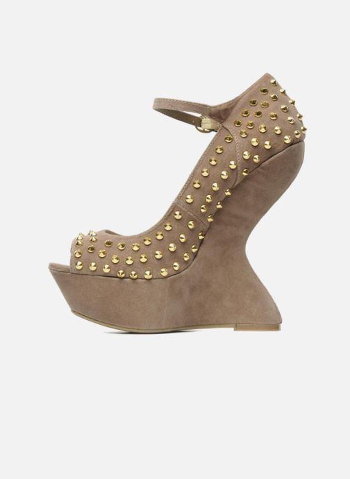 High heels Steve Madden GAMMBLEE Beige front view