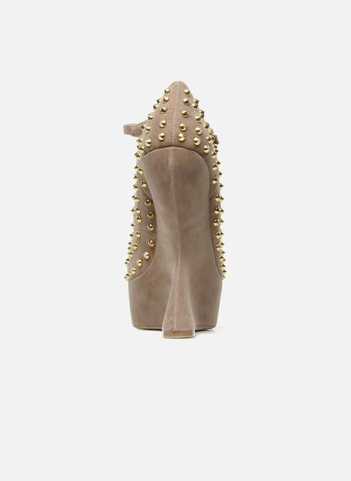 High heels Steve Madden GAMMBLEE Beige view from the right