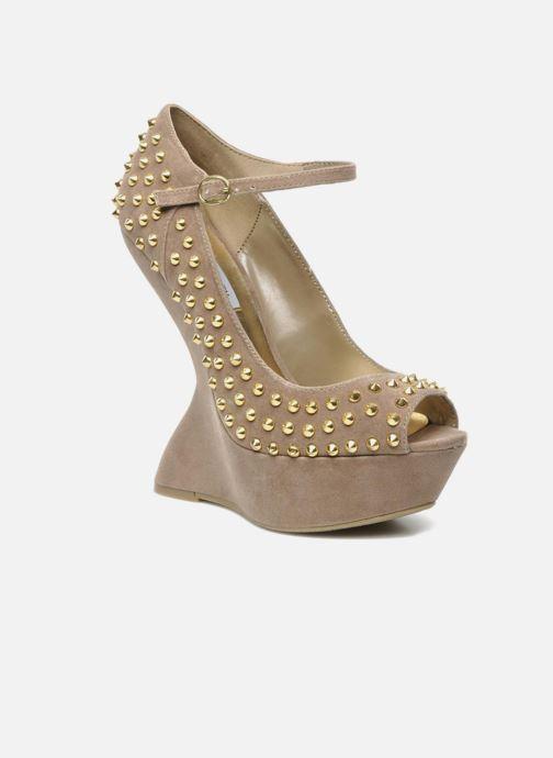 High heels Steve Madden GAMMBLEE Beige detailed view/ Pair view
