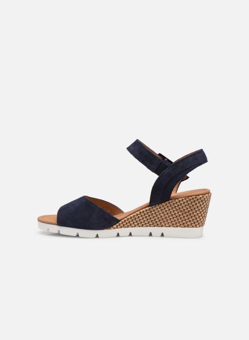 Sandali e scarpe aperte Gabor MILANO Azzurro immagine frontale