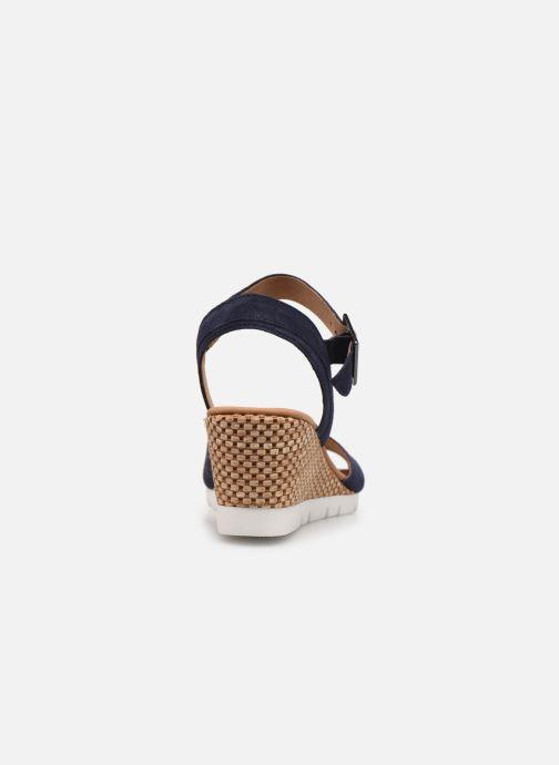 Sandali e scarpe aperte Gabor MILANO Azzurro immagine destra