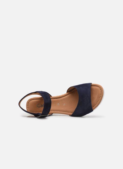 Sandali e scarpe aperte Gabor MILANO Azzurro immagine sinistra