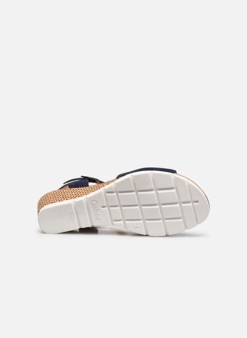 Sandali e scarpe aperte Gabor MILANO Azzurro immagine dall'alto
