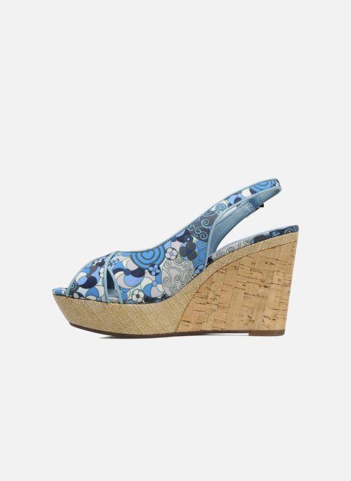 Sandales et nu-pieds MARC MINOUCHE Bleu vue face