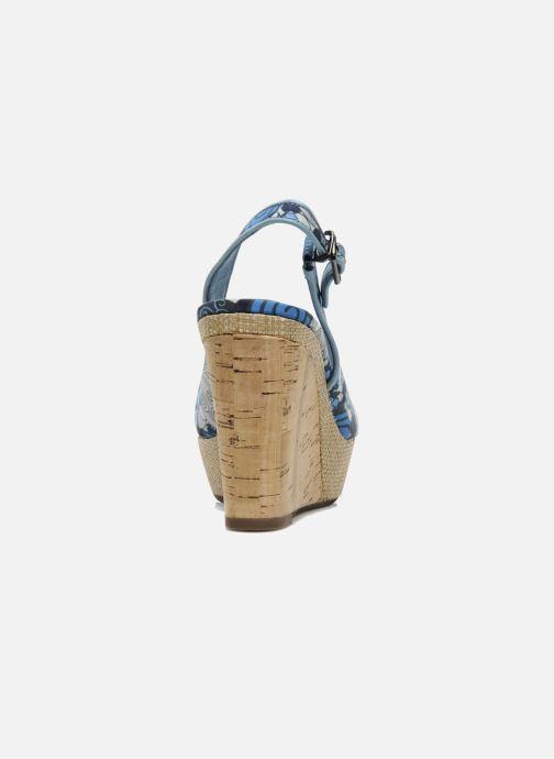 Sandales et nu-pieds MARC MINOUCHE Bleu vue droite