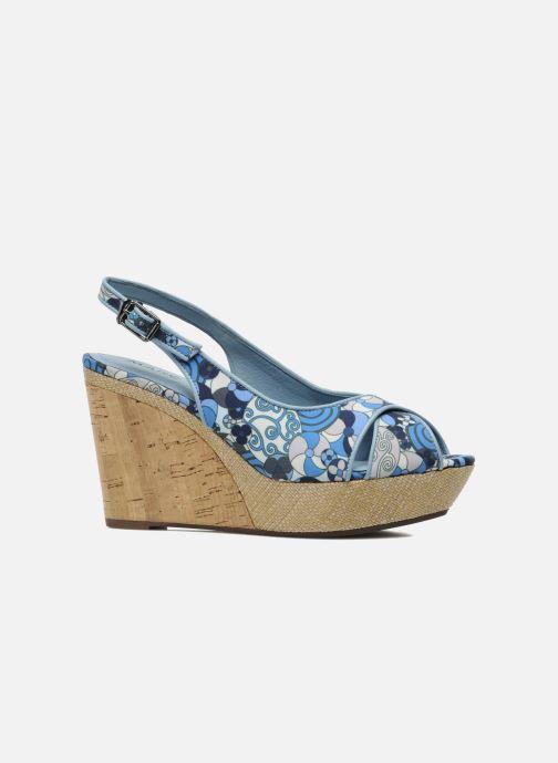 Sandales et nu-pieds MARC MINOUCHE Bleu vue derrière