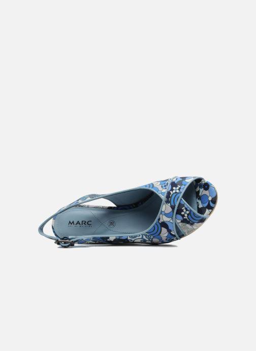 Sandales et nu-pieds MARC MINOUCHE Bleu vue gauche