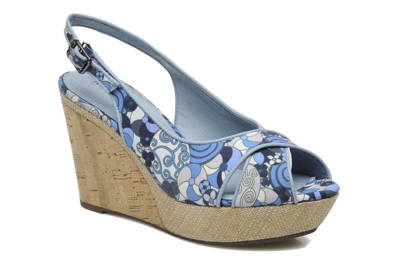 Sandales et nu-pieds MARC MINOUCHE Bleu vue détail/paire