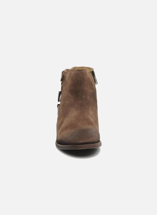 Ankle boots H by Hudson ENCKE Brown model view