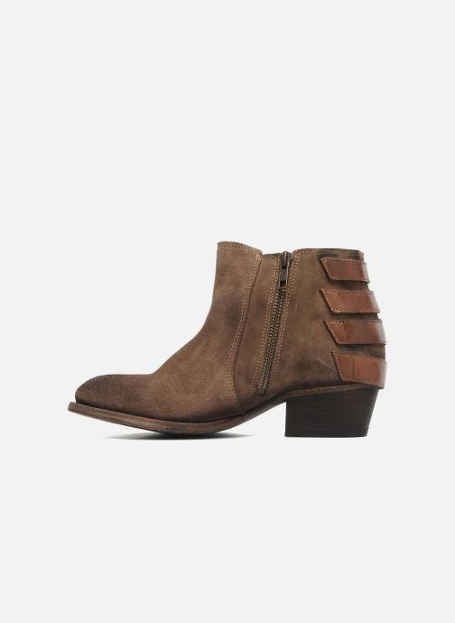 Bottines et boots H By Hudson ENCKE Marron vue face