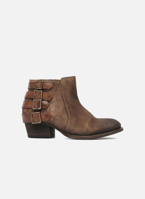Bottines et boots H By Hudson ENCKE Marron vue derrière