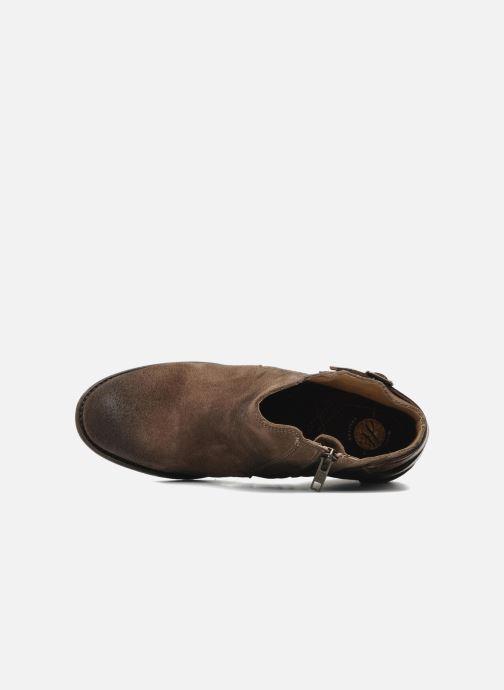 Bottines et boots H By Hudson ENCKE Marron vue gauche