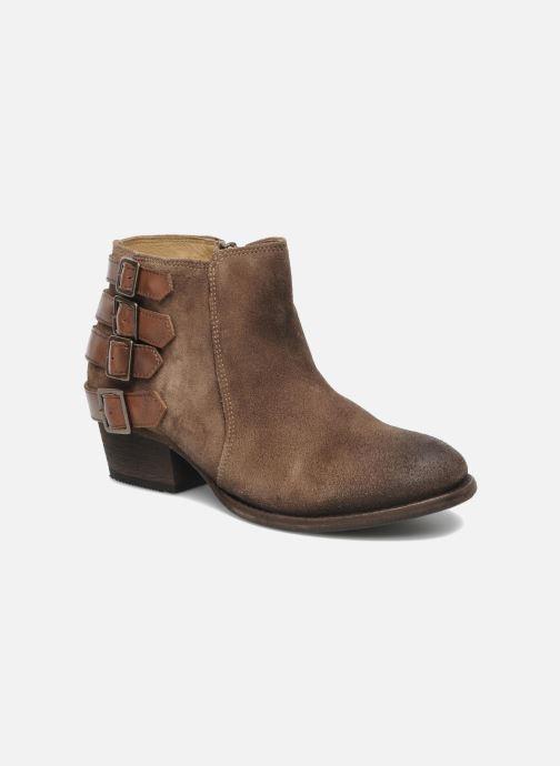 Bottines et boots H By Hudson ENCKE Marron vue détail/paire