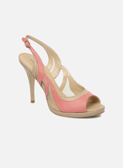 Sandales et nu-pieds Paul & Betty MARCOS Rose vue détail/paire