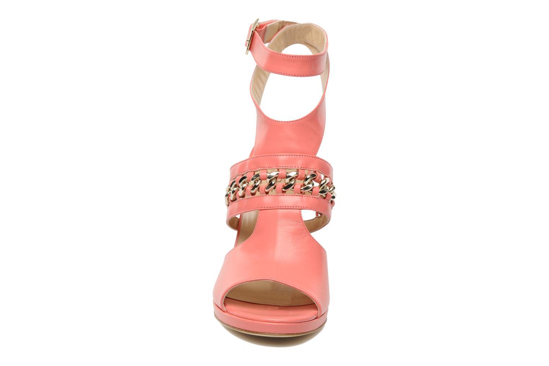 Sandales et nu-pieds Paul & Betty NARTIE Rose vue portées chaussures