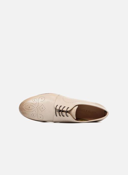 Zapatos con cordones Melvin & Hamilton Sally 1 Beige vista lateral izquierda