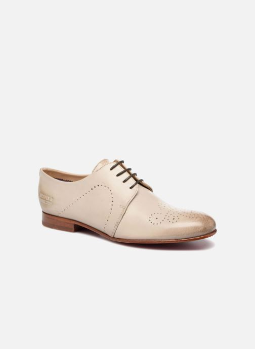 Lace-up shoes Melvin & Hamilton Sally 1 Beige detailed view/ Pair view