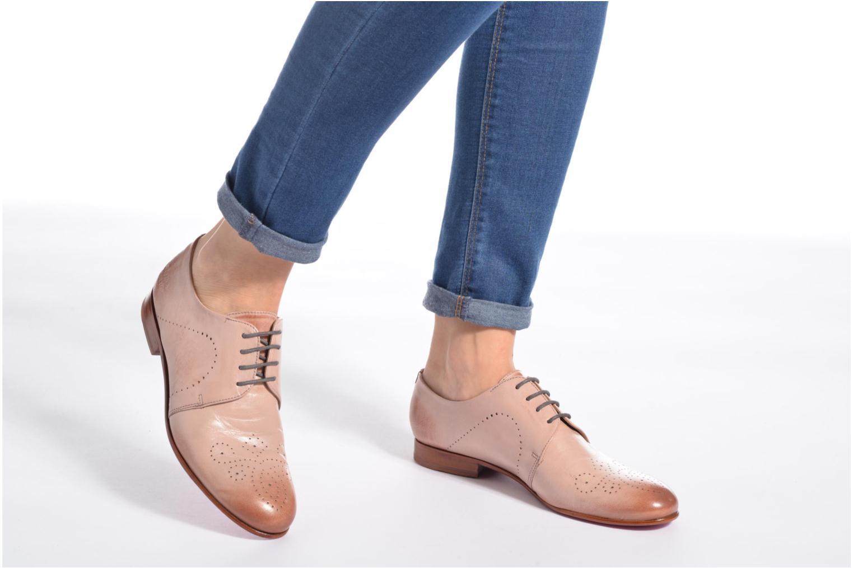 Chaussures à lacets Melvin & Hamilton Sally 1 Beige vue bas / vue portée sac