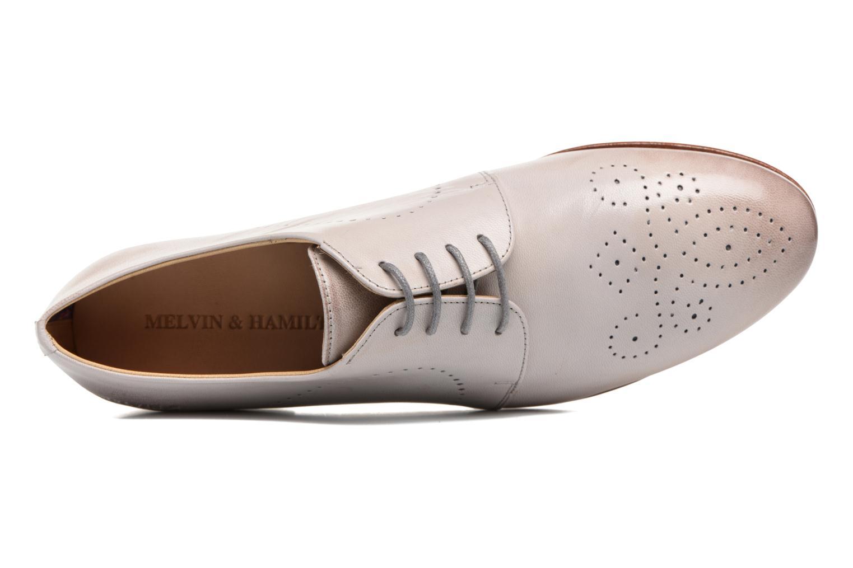 Chaussures à lacets Melvin & Hamilton Sally 1 Beige vue gauche