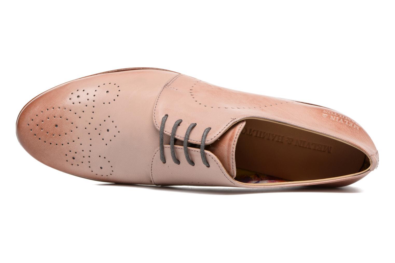 Chaussures à lacets Melvin & Hamilton Sally 1 Marron vue gauche