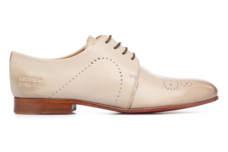 Zapatos con cordones Melvin & Hamilton Sally 1 Beige vistra trasera
