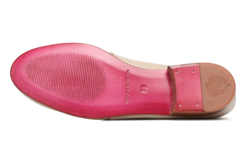 Zapatos con cordones Melvin & Hamilton Sally 1 Beige vista de arriba