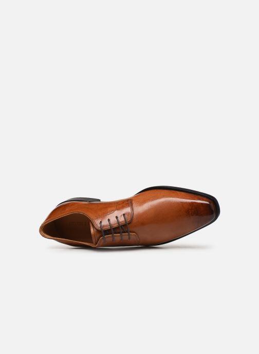 Zapatos con cordones Melvin & Hamilton Alex 1 Marrón vista lateral izquierda