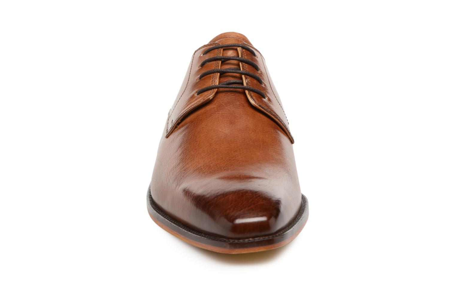 Lace-up shoes Melvin & Hamilton Alex 1 Brown model view