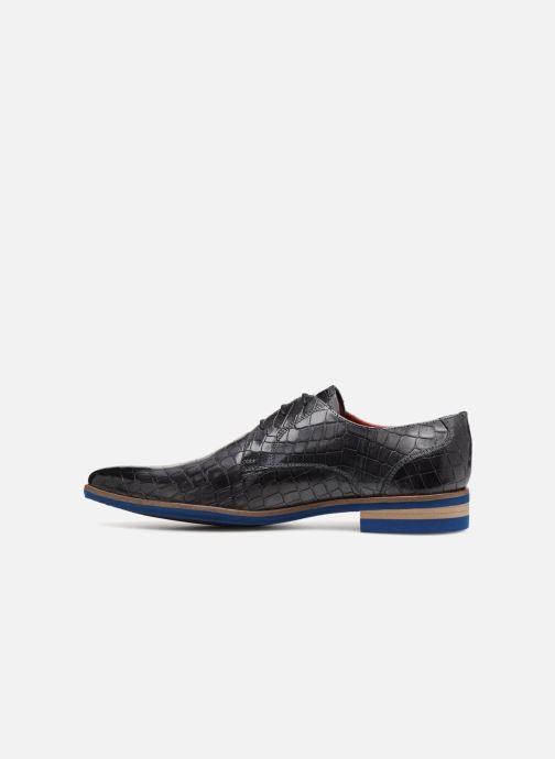 Lace-up shoes Melvin & Hamilton Toni 1 Black front view