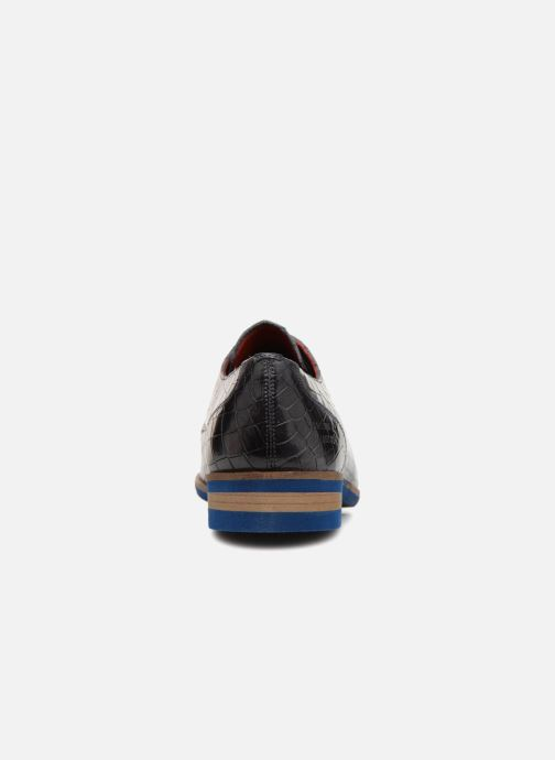 Lace-up shoes Melvin & Hamilton Toni 1 Black view from the right