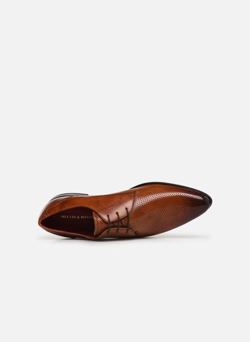 Chaussures à lacets Melvin & Hamilton Toni 1 Marron vue gauche