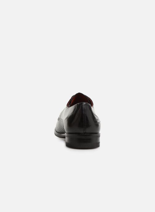 Zapatos con cordones Melvin & Hamilton Toni 1 Negro vista lateral derecha