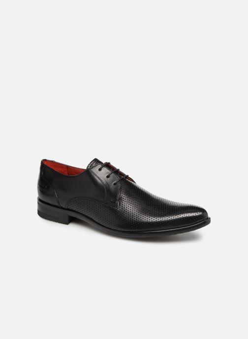 Lace-up shoes Melvin & Hamilton Toni 1 Black detailed view/ Pair view
