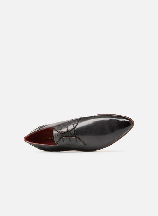 Zapatos con cordones Melvin & Hamilton Toni 1 Gris vista lateral izquierda