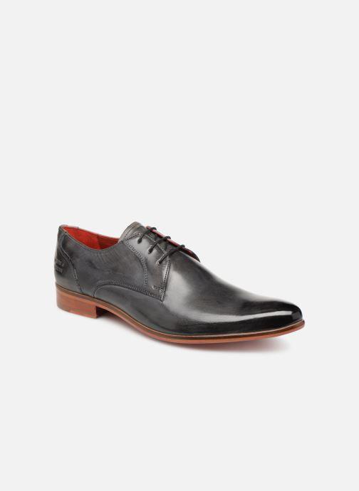Lace-up shoes Melvin & Hamilton Toni 1 Grey detailed view/ Pair view