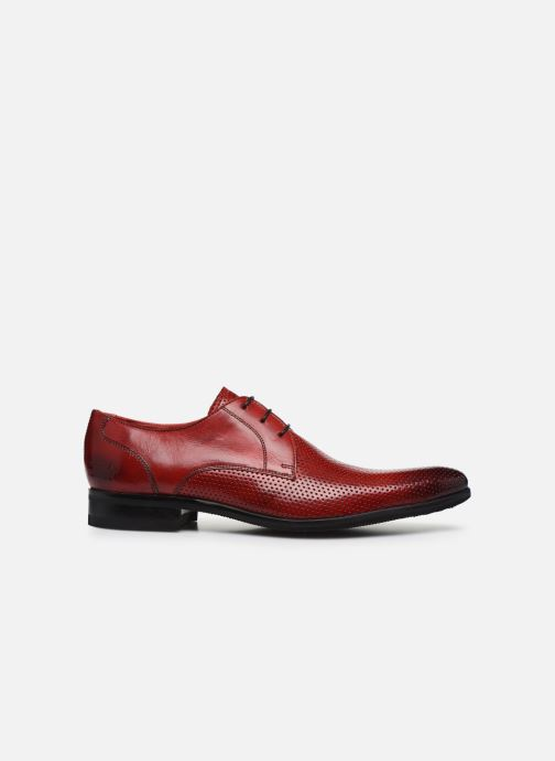 Zapatos con cordones Melvin & Hamilton Toni 1 Rojo vistra trasera