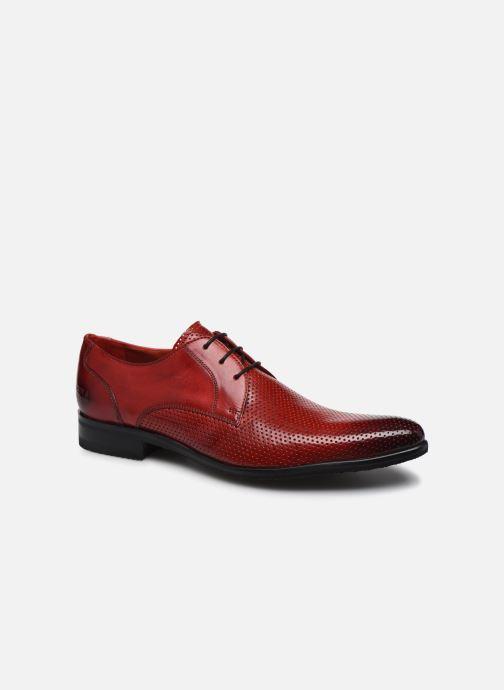 Zapatos con cordones Melvin & Hamilton Toni 1 Rojo vista de detalle / par