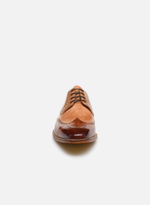 Zapatos con cordones Melvin & Hamilton Jeff 14 Marrón vista del modelo