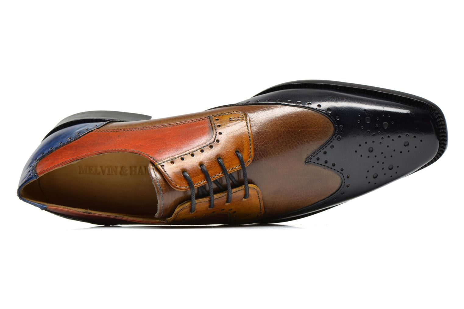 Lace-up shoes Melvin & Hamilton Jeff 14 Multicolor view from the left