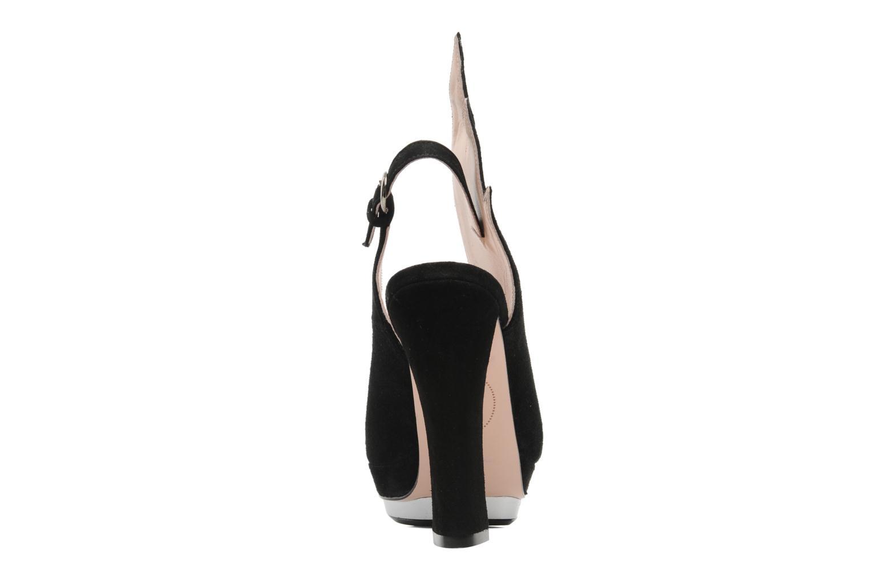 Sandales et nu-pieds Minna Parikka Ira Noir vue droite