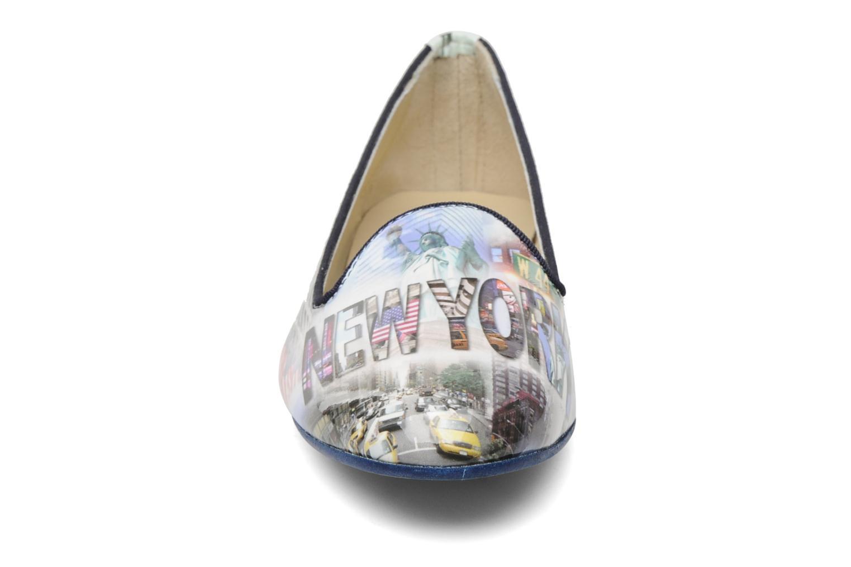 Mocassins Coco et abricot Donilo Multicolore vue portées chaussures
