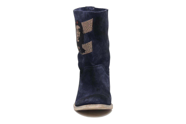 Bottines et boots Coco et abricot Ché Bleu vue portées chaussures