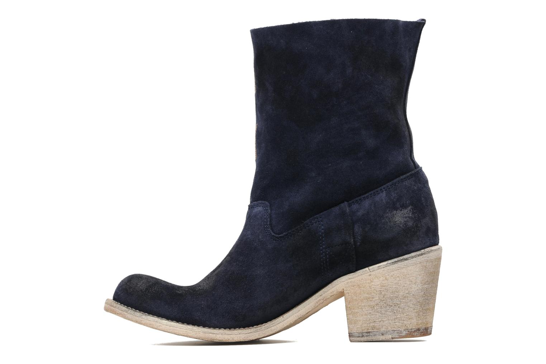 Bottines et boots Coco et abricot Ché Bleu vue face