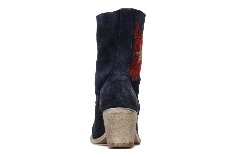 Bottines et boots Coco et abricot Ché Bleu vue droite